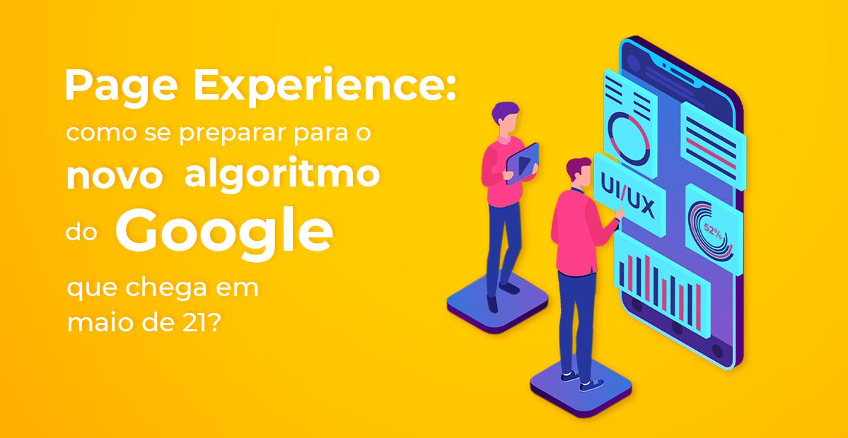 google page experience_texto